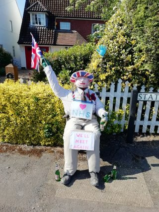Figure supporting NHS in Station Rd created by the Marriotts | (Roadley)