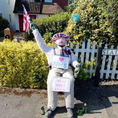 Bert on VE day 'We'll meet again' May 2020 | (Roadley)