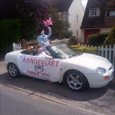 Anniversary Drive for NHS 5 Jul 2020 | (Marriott)