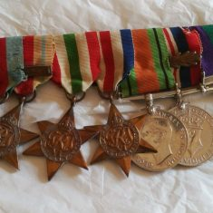 Lucy's great grandfather's medals | (Paru Oatey)