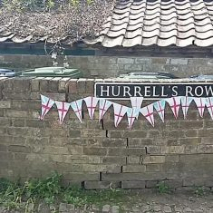 Hurrells Row celebrate VE day | (Linda Churchman)