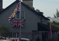VE day 75th anniversary celebrations Harston