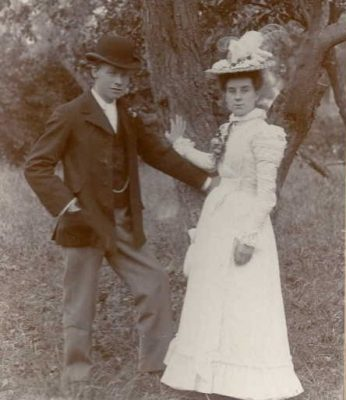 Alfred Bevis wedding