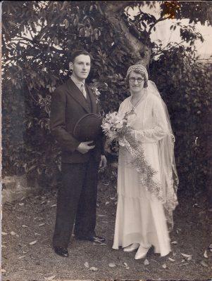 Eliot Chapman & Rosa Pugsley married 1934 Chivnor, N Devon