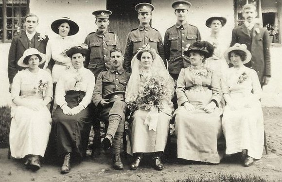 Jack & Margy's Wedding 1915