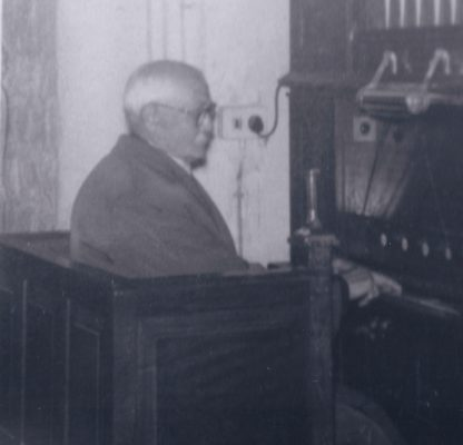 Christopher Raynor resident organist in early- mid 1900s