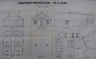 Jude plans bungalow Button End 1930 ( | (CRO)