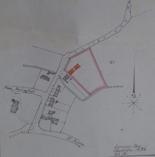 1936 CRDC Plans for 2 pairs of houses Button End   (CRO)