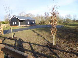Plymouth Brethren hall replacing apple cottage;.2019 | (Roadley)