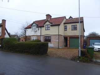 Nos 3-4 Beech Farm Cottages, with extension above garage at No 3; 2016   (Roadley)