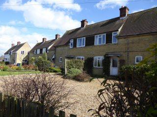 Late 1930s council houses: Nos 12-22 Button End 2016   (Roadley)