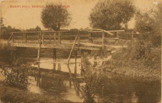 PZZB02.04 Burnt Mill bridge (Haslingfield Village Society) |  (Haslingfield Village History Group)