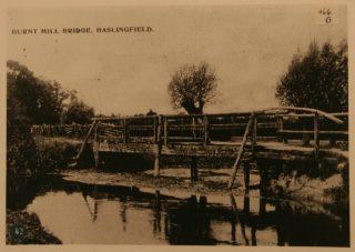 Burnt Mill bridge, Haslingfield - Harston |  (Haslingfield Village Society