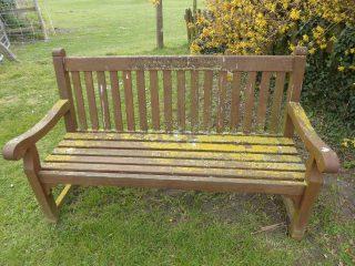 Baker bench next to 22 Button End 2020   (Roadley)