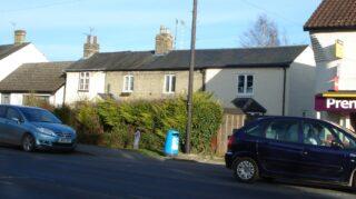 Location of No 50 High St next to original terrace 2015 | (Roadley)