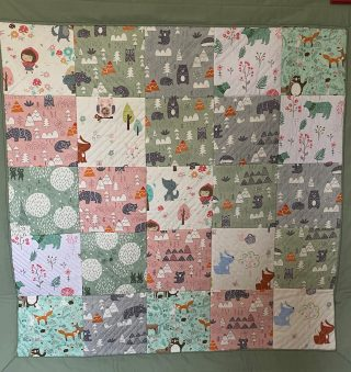 Baby quilt made during lockdown | (M Greeves)