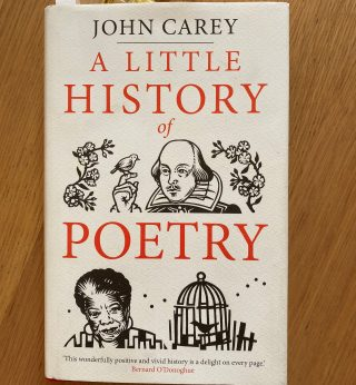 Little history of poetry | (M Greeves)