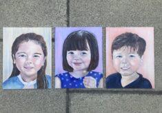 Lockdown paintings by Joy Richardson