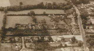Manor house Farm & New Rd bungalow next to garage 1961 | (Deacon)