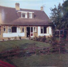 Dora Radford's bungalow built on Manor Farm