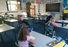 School and schooling in Harston during Covid 19