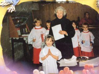 1998 Peggy's retirement as headteacher from Bassingbourn | (W Johnson)