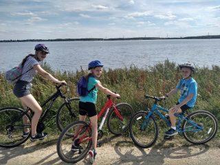 Warren family bike rides   (J Warren)