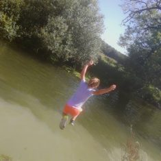 Swimming in the River Cam | (K Davenport)