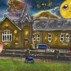 Harston Newton school painted during lockdown | (Delvin Udaiyan)