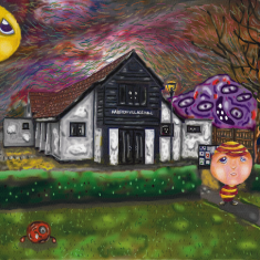 Village Hall painted during lockdown | (Delvin Udaiyan)