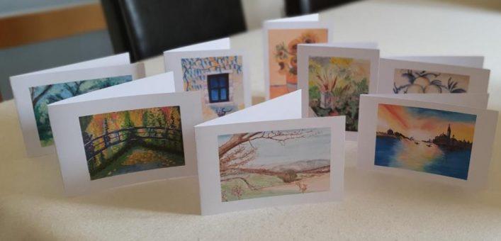 John & Francoise Barber's cards | (J Barber)