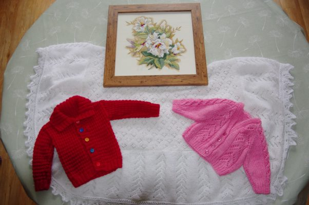 Janet's knitting projects | (J Birchmore)