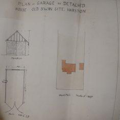 1930 plan of garage | (CA)