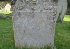 Gravestones  - surnames beginning with A