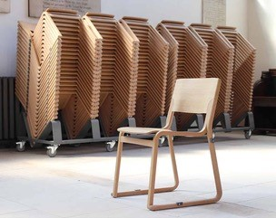 Proposed new church chairs easily stacked Sep 2020 | (M Greeves)