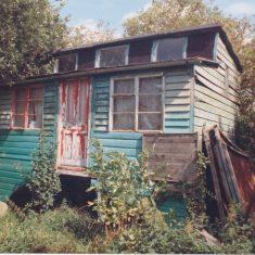 No 25 Royston Rd building 1992 in orchard | (Deacon)