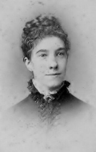 Florence Edmonds (1858-1935)   (Ancestry pamSpened)