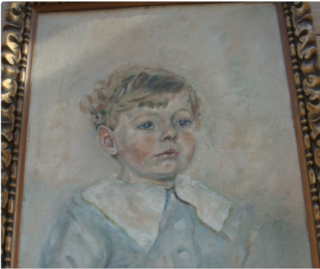 Young boy in Eton Collar