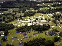 View over Jamboree