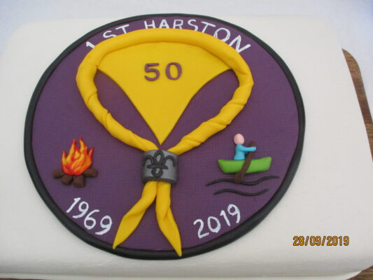 Badge design for 50th Anniversary Camp