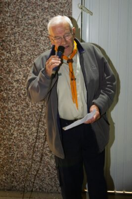 Roger Summerfield, Group Scout Leader